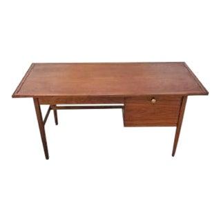 1960s Kipp Stewart Drexel Mid Century Declaration Writing Desk For Sale