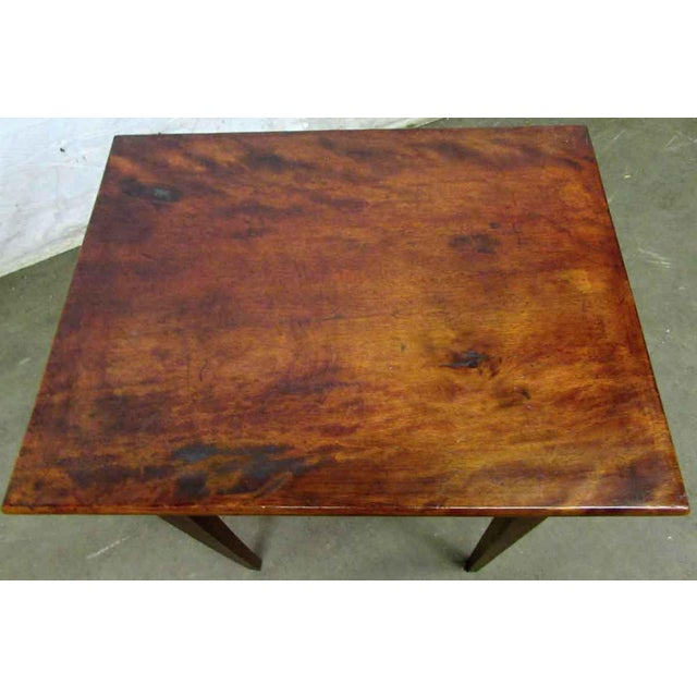 Single Drawer Wooden End Table For Sale - Image 6 of 8