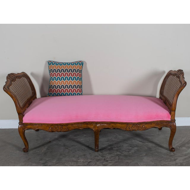 Antique French Louis XV Period Walnut Daybed circa 1760 For Sale - Image 11 of 11
