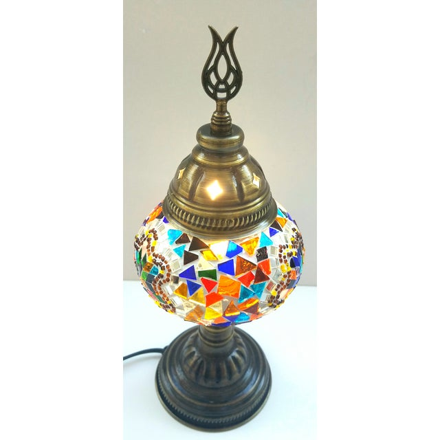 Handmade Mosaic Table Lamp - Image 5 of 5
