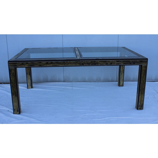 1970's Bernhard Rohne for Mastercraft Dining Table - Image 8 of 9