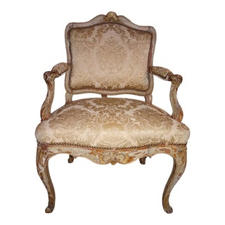Pair of 19th Century Italian Fauteuils For Sale
