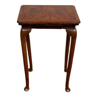 Vintage Queen Anne Style Table / Nightstand For Sale