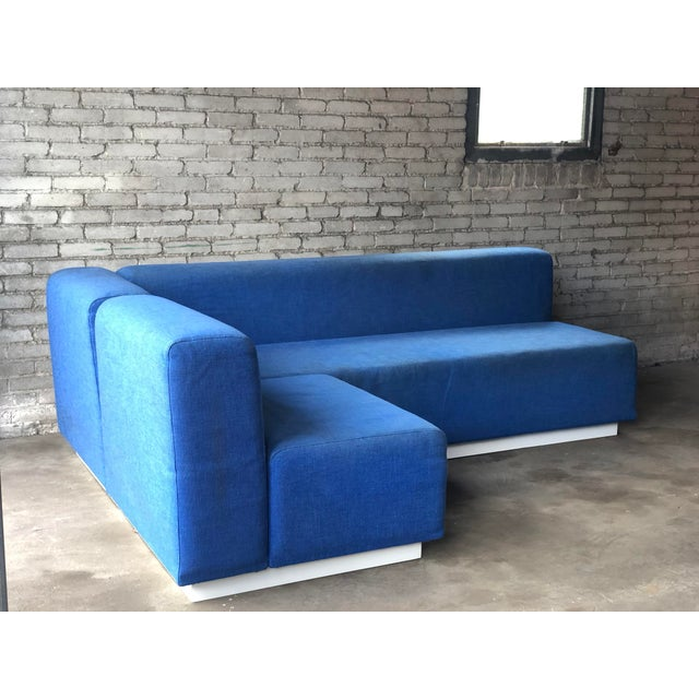 Mid-Century Modern Vintage 1972 Knoll Modular Sectional Sofa For Sale - Image 3 of 13