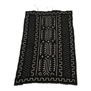 African Handmade Mud Cloth Tribal Design Textile For Sale