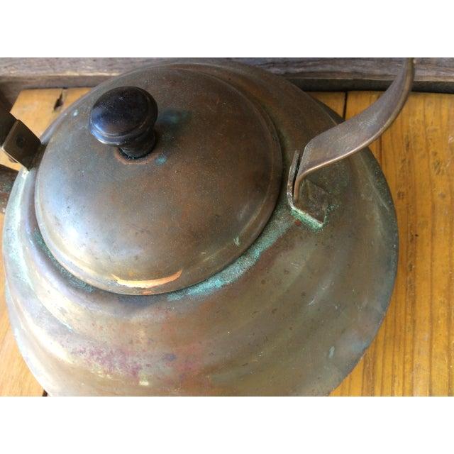Vintage Copper Tea Kettle with Bakelite Handle - Image 4 of 7