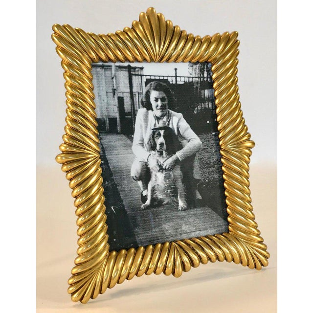 French Dor Gilt Bronze Picture Frame Chairish