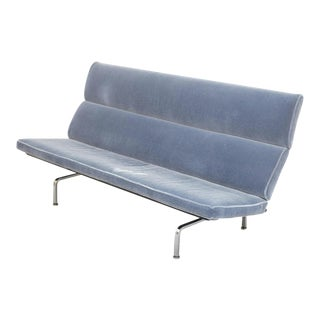 Vintage Mid Century Eames Herman Miller Sofa For Sale