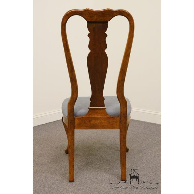 Late 20th Century Late 20th Century Vintage American of Martinsville Queen Anne Style Dining Chair For Sale - Image 5 of 9