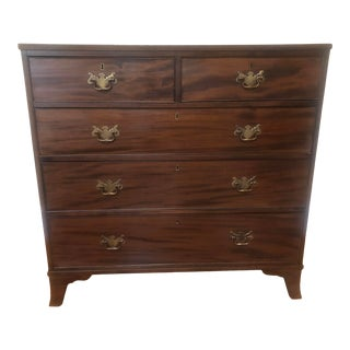 19th Century Antique English Chest For Sale