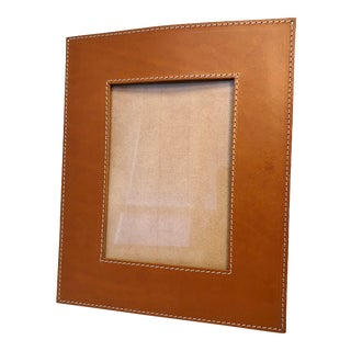 Modern Arte & Cuoio Large Rectangular Leather Photo Frame