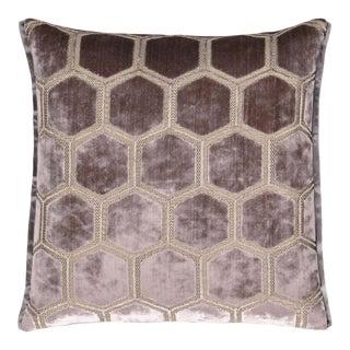 Manipur Amethyst Medium Velvet Cushion For Sale