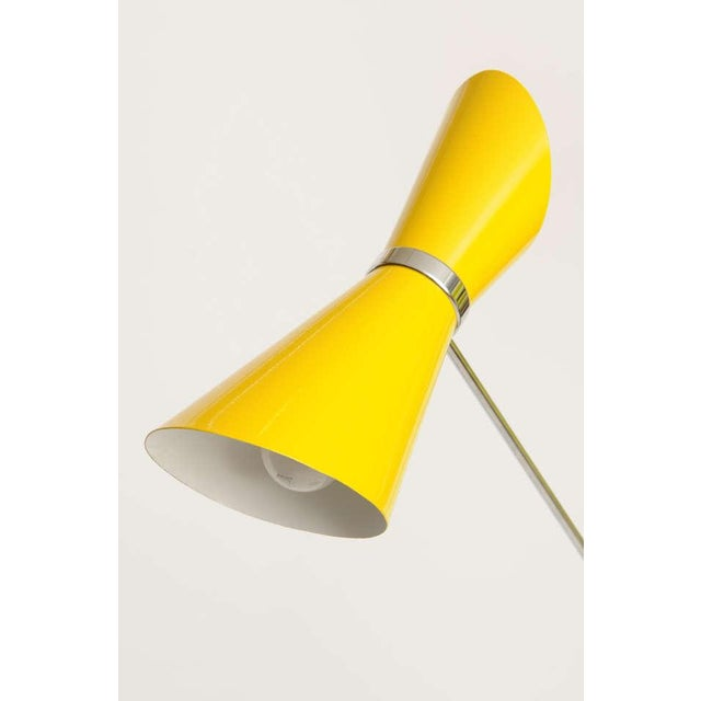 Double Articulating Arm Cone Floor Lamp - Image 3 of 8
