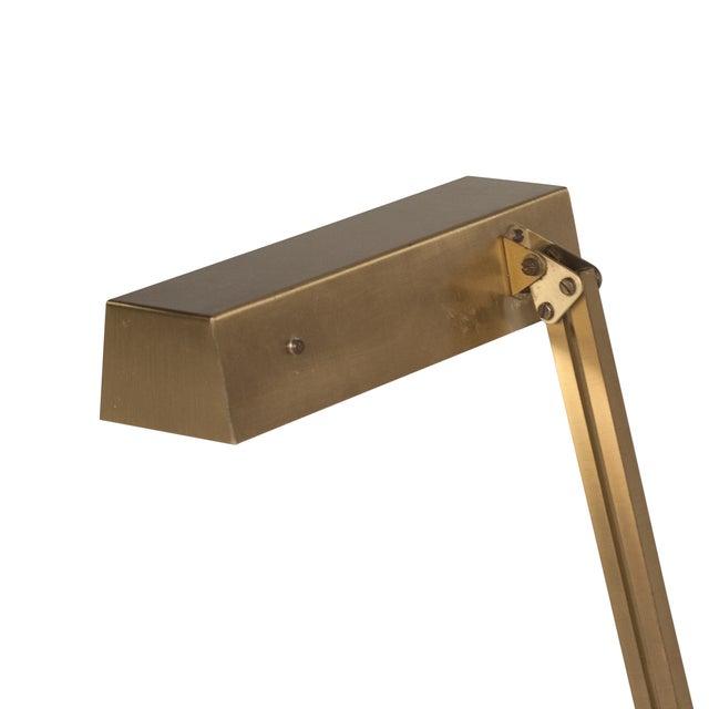 Vintage German 1960s Bronze Pivoting Desk Lamp - Image 8 of 10