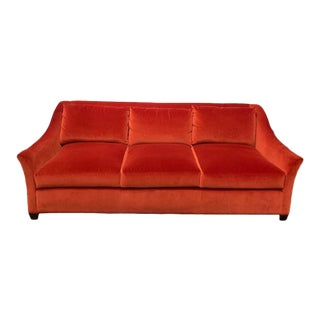 Modern Laurel Exposed Leg Sofa For Sale