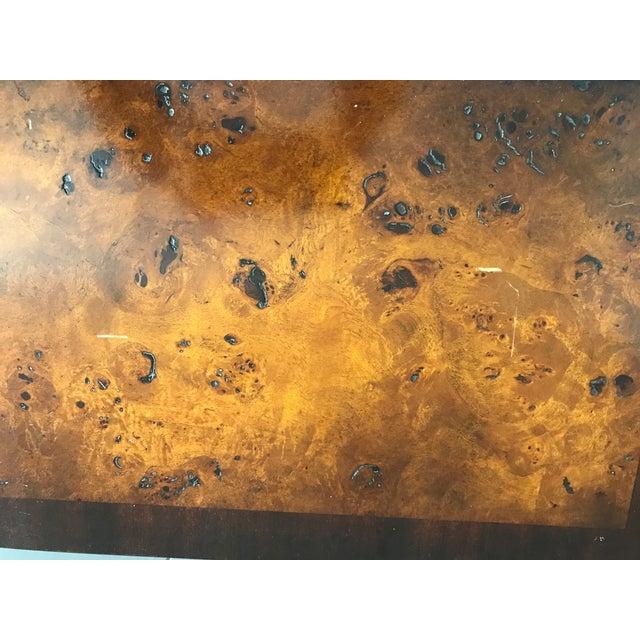Burled Wood Lift Top Secretary Desk - Image 2 of 10