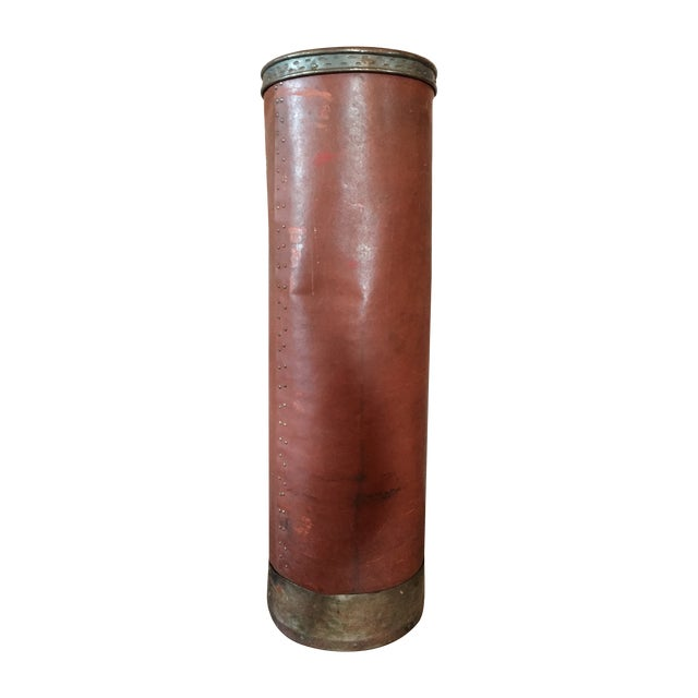 Textile Shipping Tube Container - Image 1 of 3