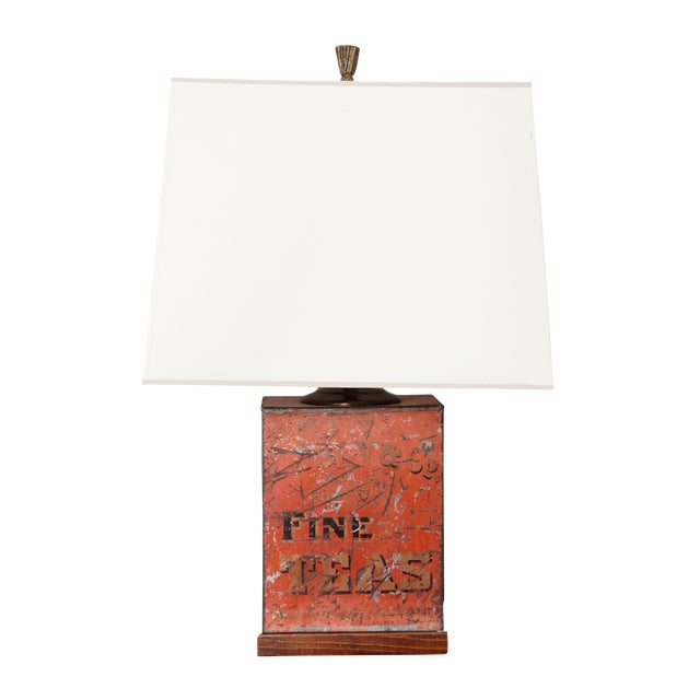 Antique Fine Teas Table Lamp For Sale
