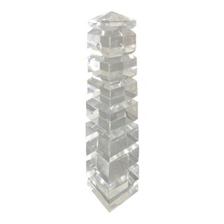 Clear Crystal Obelisk