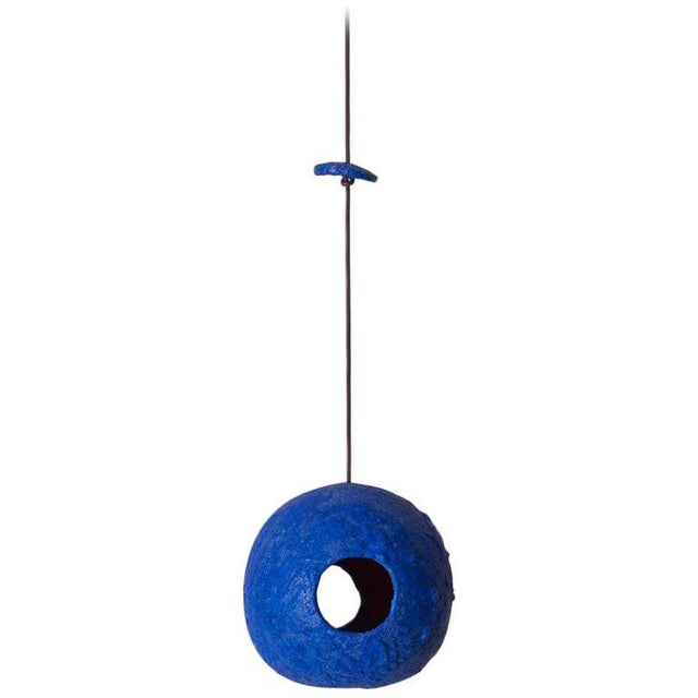 Blue Stan Bitters Bird Houses in Glazed Ceramic, Usa, 2017 For Sale - Image 8 of 8