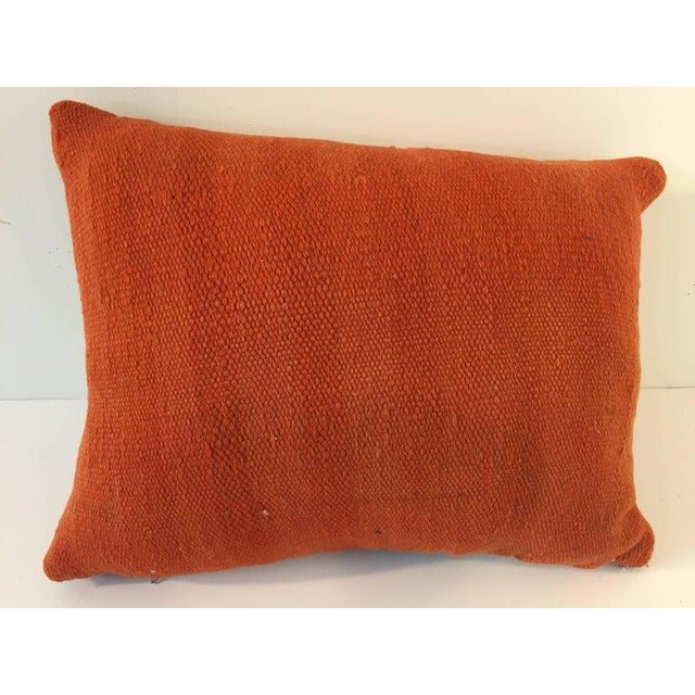 Berber Tribes of Morocco Handwoven Moroccan Tribal Berber Throw Pillow For Sale - Image 4 of 10