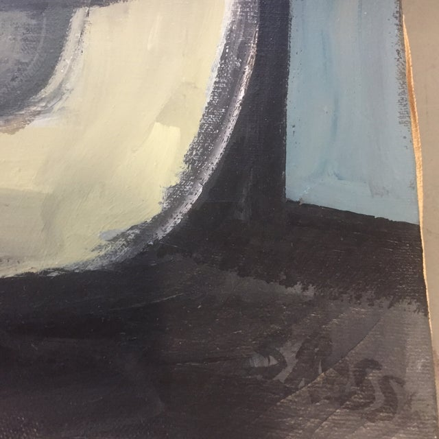 Abstract Original Stewart Ross Abstract Painting For Sale - Image 3 of 6