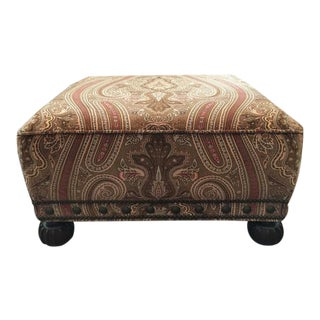 Ralph Lauren Home Aran Isles Ottoman For Sale