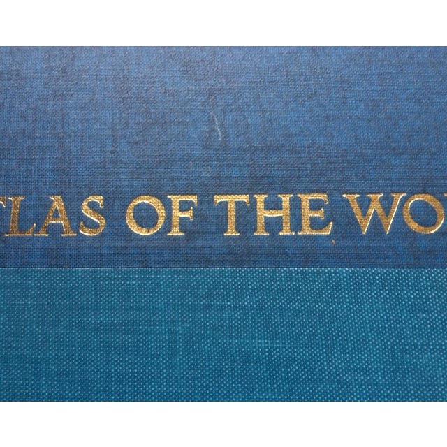 1963 National Geographic Atlas of the World First Edition Book For Sale - Image 10 of 12
