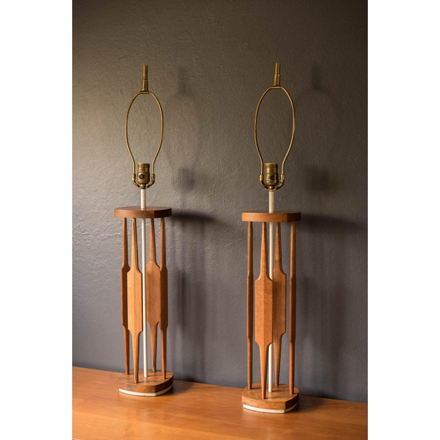Mid-Century Modern Tony Paul for Westwood Lamps - a Pair For Sale - Image 11 of 11