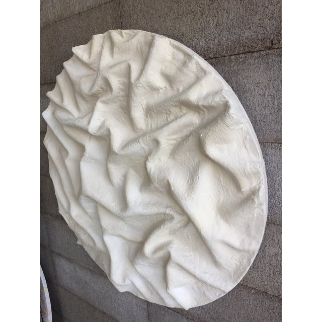 Textile Minimalist Plaster Painting, 'Currents' For Sale - Image 7 of 9