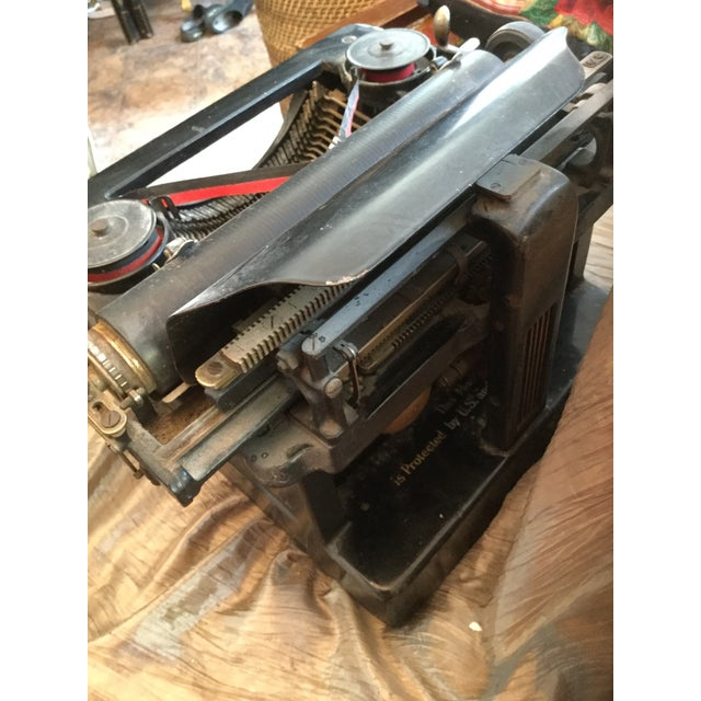 Antique Smith Brothers Typewriter For Sale - Image 4 of 6