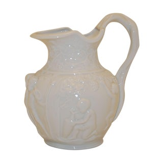 Furstenberg Raised Relief Porcelain Jug