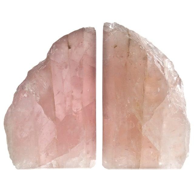 Rose Quartz Bookends - Pair - Image 2 of 4