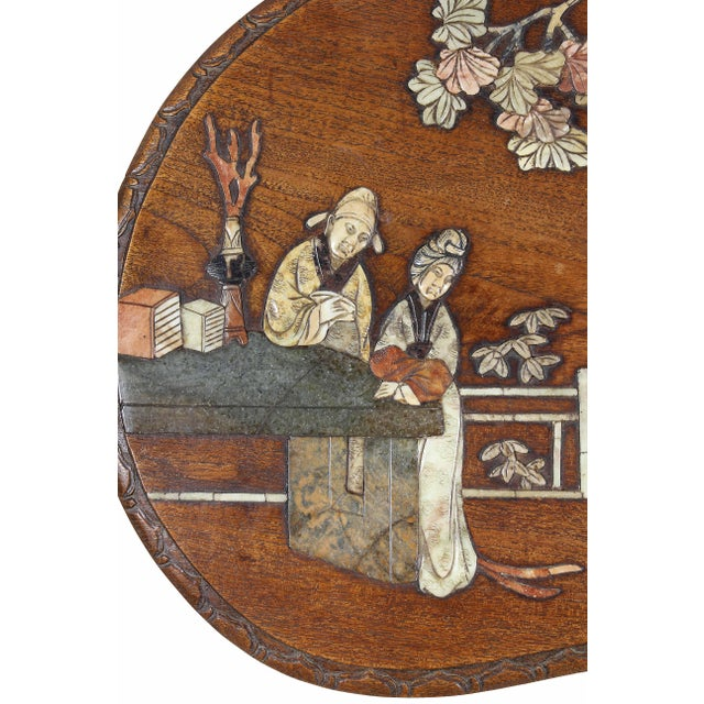 Chinese Hardstone Mounted Coffee Table For Sale - Image 10 of 13