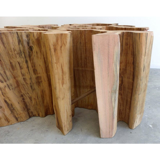 Brazilian Amazon Guaranta Wood Table Base For Sale - Image 5 of 7