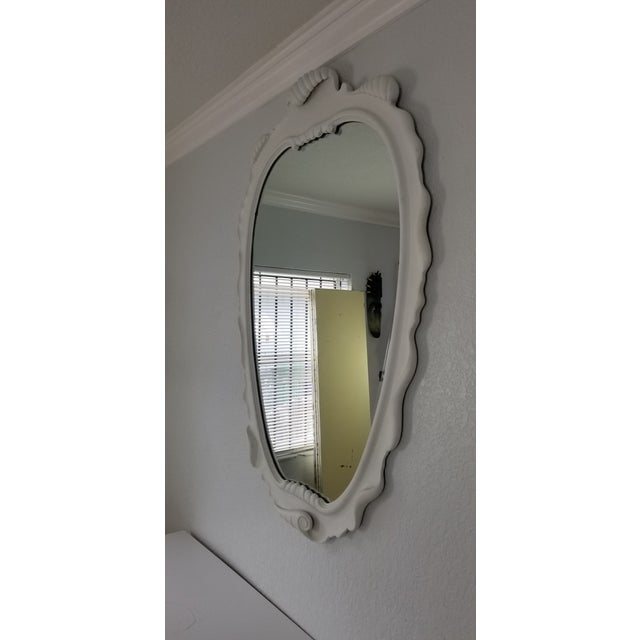 1950s Italian Dorothy Draper Style Wall Mirror For Sale - Image 5 of 9