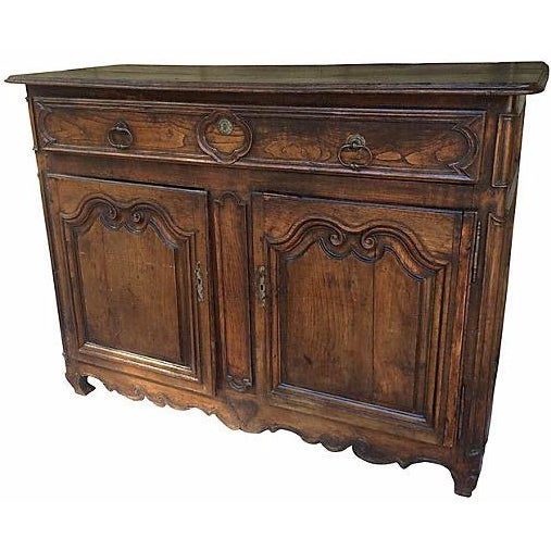 18th-C. French Carved Buffet - Image 1 of 6