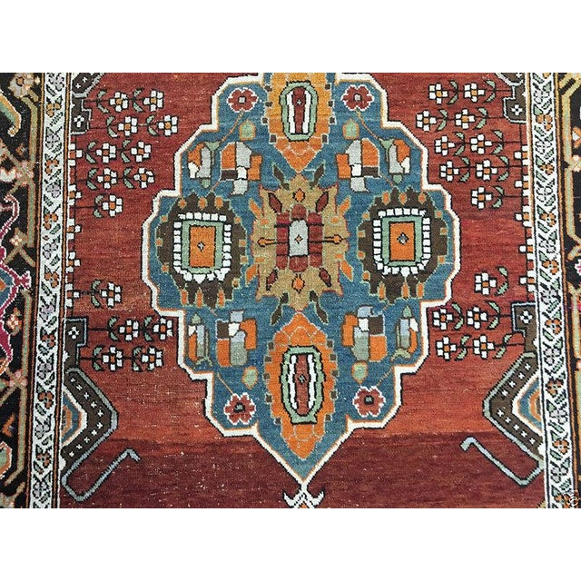 "Antique Caucasian Karabagh Rug - 4'8"" x 7'2"" - Image 5 of 5"