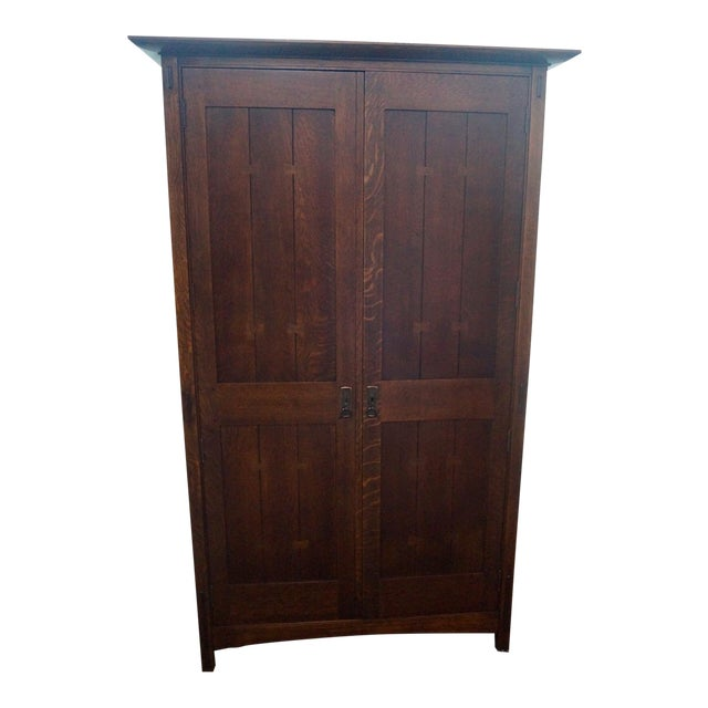 Stickley Arts & Crafts Armoire - Image 1 of 3