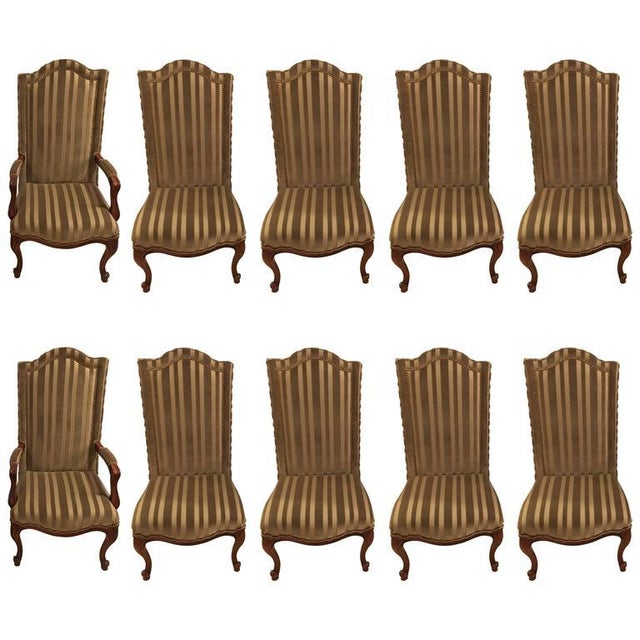 1960s Harden Dining Room Chairs - Set of 10 For Sale - Image 9 of 10