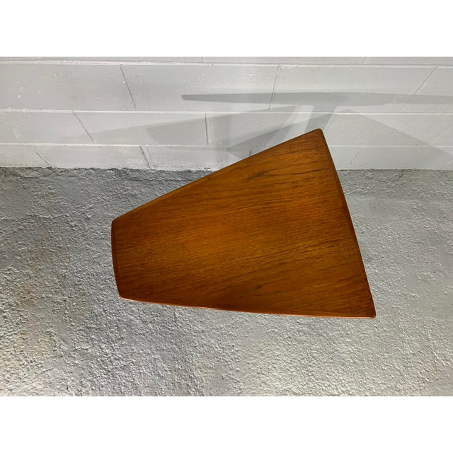 1960s Mid-Century Swedish Modern Dux Teak Side Table For Sale In Boston - Image 6 of 13
