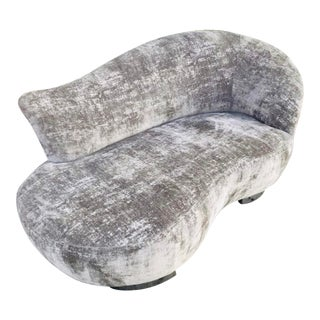 Mid Century Modern Cloud Love Seat by Vladimir Kagan For Sale