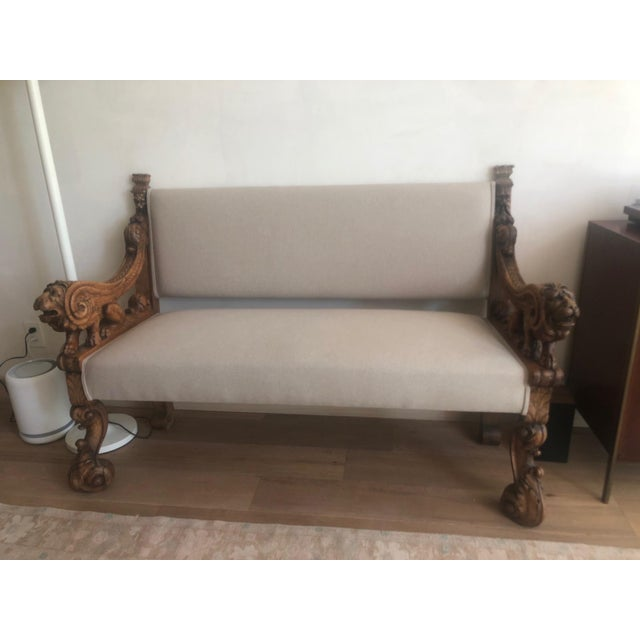 18th Century Venetian Settee For Sale - Image 10 of 10
