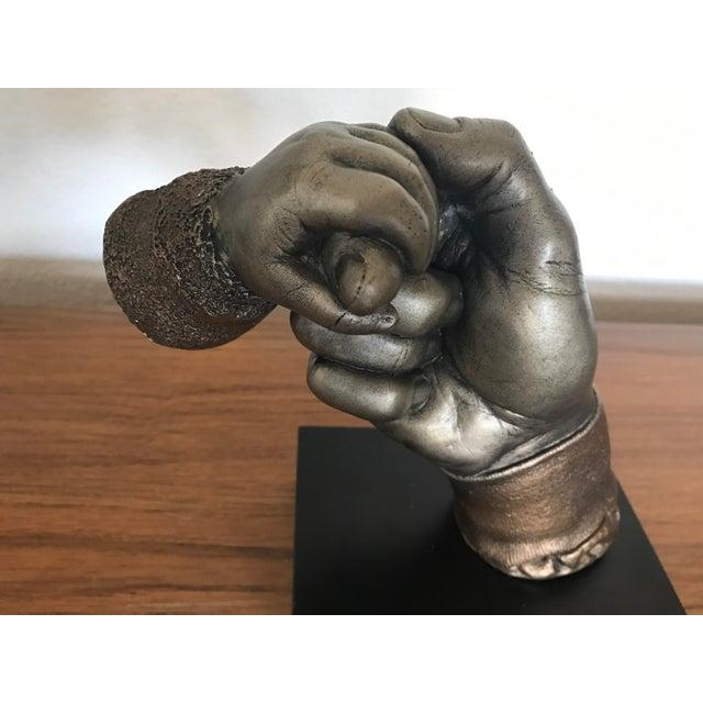 "Bronze ""Daddy's Baby"" Sculpture - Image 9 of 10"