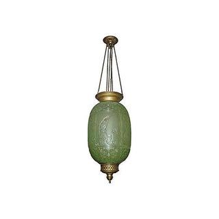 "French ""Baccarat"" Hanging Lamp, 19thc."