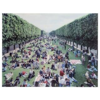 """Massimo Vitali, """"Picnic Allee"""", Photograph For Sale"""