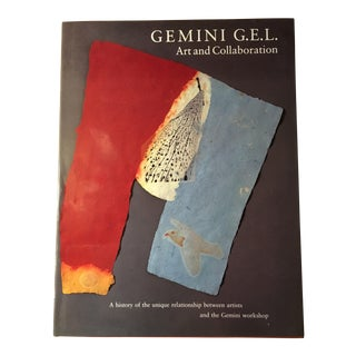 Gemini G.E.L.: Art and Collaboration Coffee Table Art Book For Sale