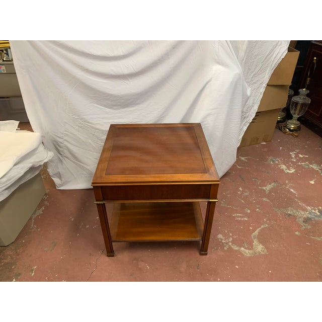 2010s Georgian Gordon's Mahogany Side Tables - a Pair For Sale - Image 5 of 8