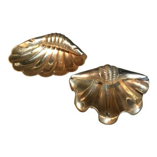 Brass Shells Catchall - a Pair For Sale
