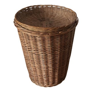 Oversized Bohemian Basket Serving Lid** For Sale